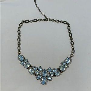 Rhinestone deco necklace